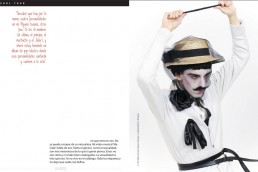 2 Nuno Roque - Ulisex Magazine - Mexico - My Cake - The Villain - Le Vilain - Interview - Press - Pop Music Art Artwork Moustache Mustache Mime