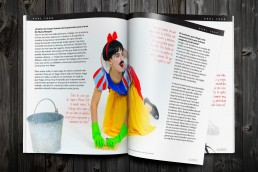 2 ULISEX Interview Photorealistic Magazine MockUp