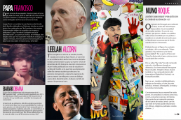 Barack Obama - Pope Francis and Nuno Roque - Ulisex Magazine Mexico - Comics Overdose (Cakes) - Pop Music - Contemporary Art - Fashion