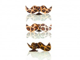 Moustache Bow Tie (Leopard) by Nuno Roque - Fashion - Clothing