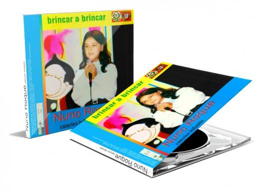 Nuno Roque - Brincar a Brincar - Album Cover Art