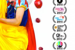 Nuno Roque - My Cake - Poster - Snow White - Disney Moustache - Film - Bullying