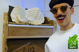 Nuno Roque - Paris - The Piano Body - Moustache - Fashion - Art - Sculpture - Vernissage