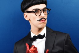 Nuno Roque - Portrait - Moustache Bow Tie Black - Fashion 2