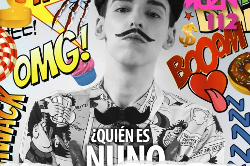 Nuno Roque - Têtu Magazine - Comics Overdose (Duck) - Pop Music moustache - Ulisex Cover Star Contemporary Art