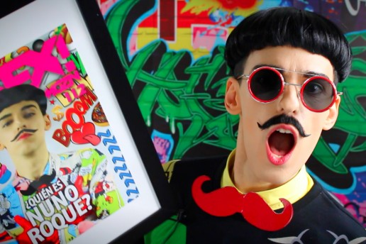Nuno Roque - Ulisex Grafitti Video Interview - Moustache Bow Tie (Rouge)