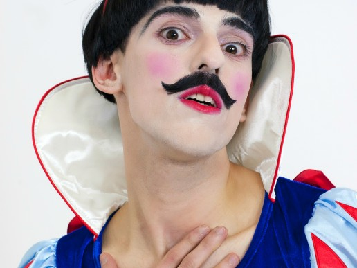 The Prince (Looking In The Mirror) by Nuno Roque - Contemporary Art Mustache Photography Identity Snow White Male Disney