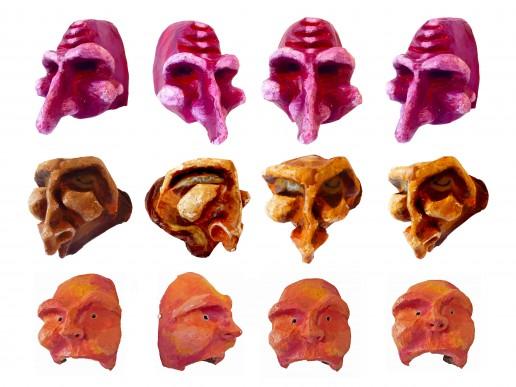 Nuno Roque - Masks - Sculptures