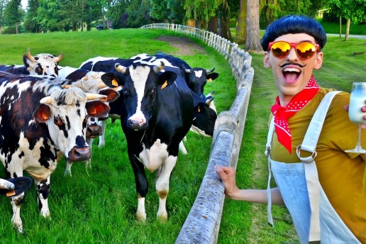 Nuno Roque - Best of Snapchat WTF Moments - Cows - Farm - Milk - Fashion Menswear