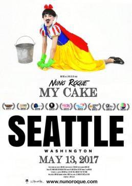 Nuno Roque - My Cake - Poster - Canada - Disney - Snow White - Contemporary Art Pop Music 7