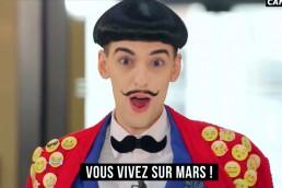 Nuno Roque - Canal+ - Emoji Pyjama Moustache bow tie