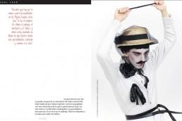 2 Nuno Roque - Ulisex Magazine - Mexico - My Cake - The Villain - Le Vilain - Interview - Press - Pop Music Art Artwork Moustache Mustache Mime