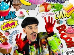 Nuno Roque - Comics Overdose (Cakes) - Cartoons - Pop Music - Contemporary Art - Photography - Collage - Artwork - My Cake