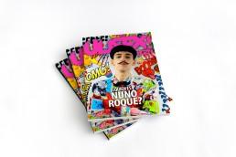 Nuno Roque - Magazine Cover - Comics Overdose (Duck) - Artwork - Ulisex Magazine - Moustache bow tie - cartoons - Fashion
