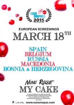 Nuno-Roque-My-Cake-Eurovideo-Mons-Capital-of-Culture-Countries-Poster-Spain-Russia-Bosnia-Belgium-Macedonia
