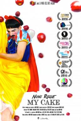 Nuno Roque - My Cake - Poster - Snow White - Disney Moustache - Film - Bullying