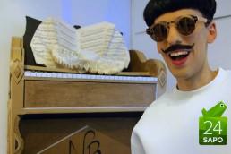 Nuno Roque - Paris - The Piano Body - Moustache - Fashion - Art - Sculpture - Vernissage
