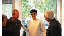 Nuno Roque - Paris art gallery - Exhibition Exposition Galerie - Fashion Paris week - Moustache Mustache - sunglasses - museum - contemporary art opening show