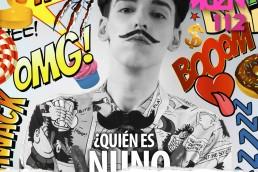 Nuno Roque - Têtu Magazine - Comics Overdose (Duck) - Pop Music moustache - Ulisex Cover Star Contemporary Art