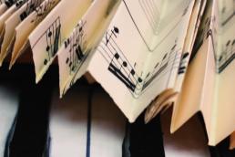 Nuno Roque - The Piano Body - Ruff - Music Sheet - Detail - Sculpture