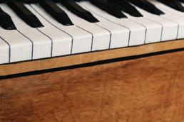 Nuno Roque - The Piano Body - Sculpture detail Trompe L'Oeil