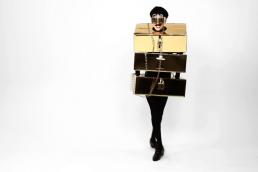 Nuno Roque - The Stuck In Luxury Body - Wearable Sculpture 5