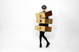 Nuno Roque - The Stuck In Luxury Body - Wearable Sculpture