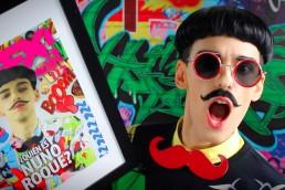Nuno Roque - Ulisex Grafitti Video Interview - Moustache Bow Tie (Rouge)