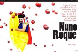 Nuno Roque - Ulisex Magazine - Mexico - My Cake - Snow white - Disney - The Prince - Bullying - Interview - Press - Blanche Neige - Pop Music Art Artwork Moustache Mustache