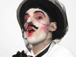 Nuno Roque performing in %22My Cake%22 (2015) - Contemporary Art Pop Music The Villain Still