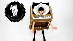 'The Piano Body' (sculpture) in My Cake (film) - Nuno Roque - Blooom Award - Contemporary Art - Pop Music