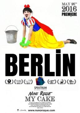 Nuno Roque - My Cake - Poster - Berlin - Disney - Snow White - Contemporary Art Pop Music Film